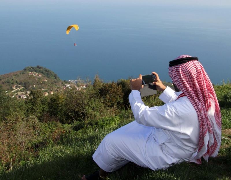 Arapların Karadeniz Aşkı Bitmek Bilmiyor