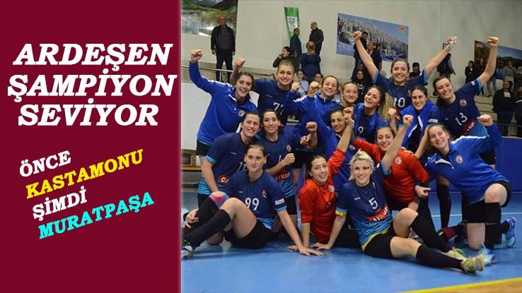 Ardeşen GSK Son Şampiyon Muratpaşa'yı Devirdi