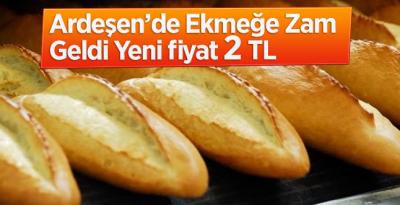 Ardeşen'de Yapılan Ekmek Zammına Muhtarlardan Tepki