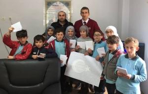 Çamlıhemşinli Öğrencilerden Mehmetçik'lere Mektup