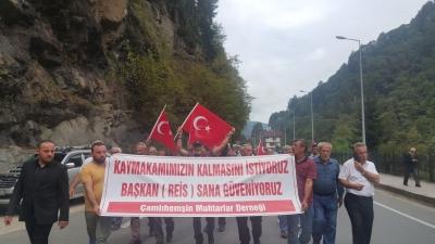 Erdoğan'a Çamlıhemşin'den Mesaj: Kaymakamımızı Geri Ver