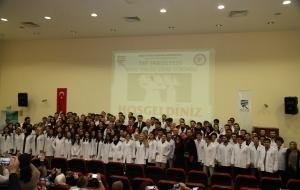 Geleceğin 99 Doktor Adayı Rize'de Beyaz Önlük Giydi