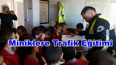 Miniklere Trafik Eğitimi