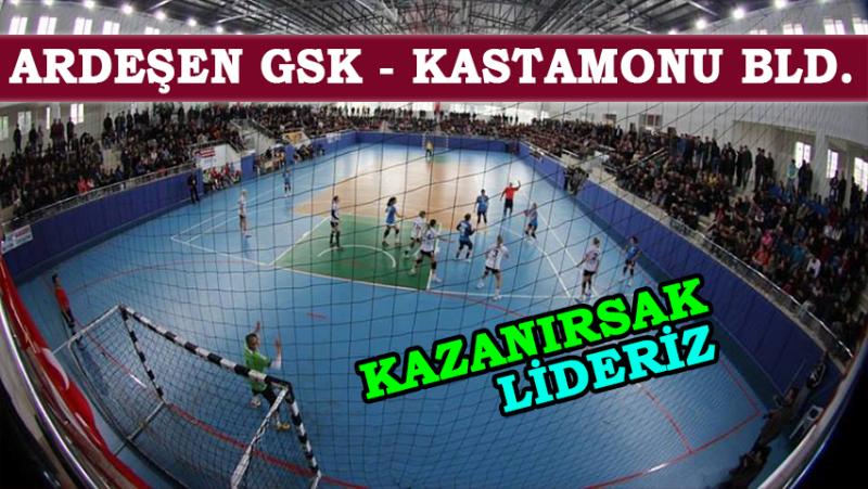 Ardeşen GSK Karadeniz Derbisi'nde Kastamonu'yu Ağırlıyor