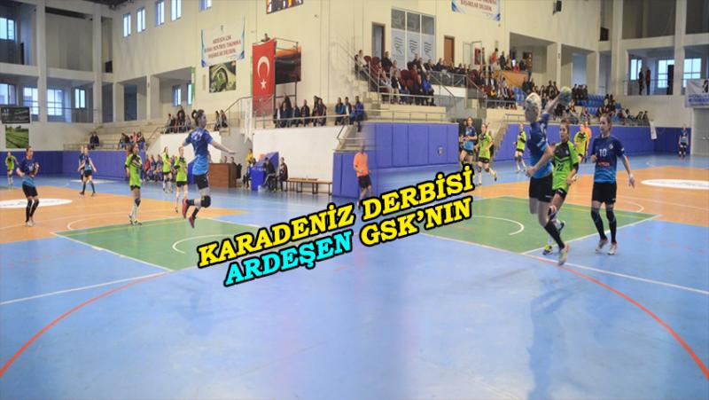 Ardeşen GSK Samsun'a 39 Attı, 33 Yedi