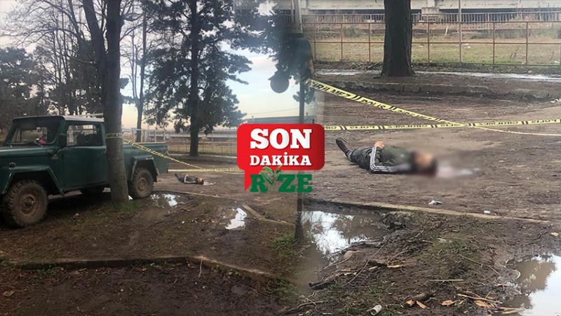 Ardeşen'de Korkunç Olay! Başından Vurulmuş Halde Bulundu