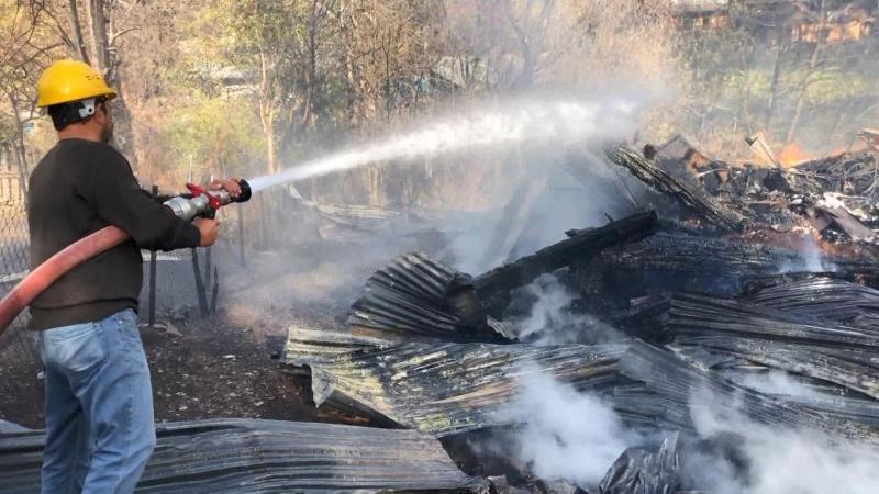 Artvin'deki Yangın, 31 Yıl Önceki Olayı Akıllara Getirdi