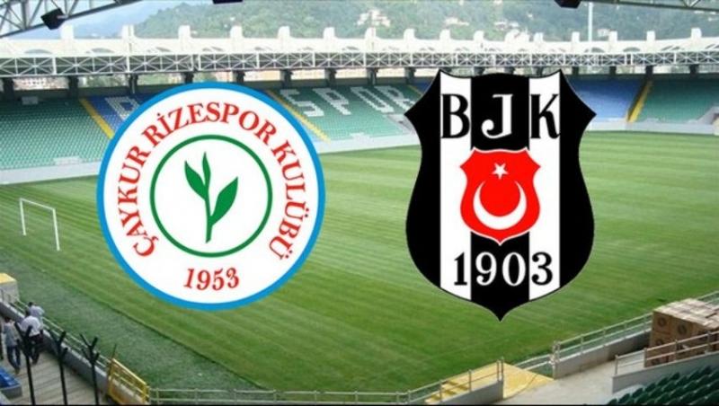 Çaykur Rizespor - Beşiktaş Maçı Biletleri Satışa Çıktı