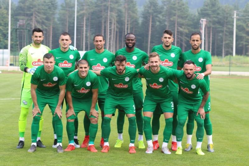 Çaykur Rizespor İkinci Hazırlık Maçını da Kazanamadı