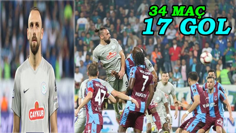 Çaykur Rizespor'da Vedat Murigi Sezona Damga Vurdu