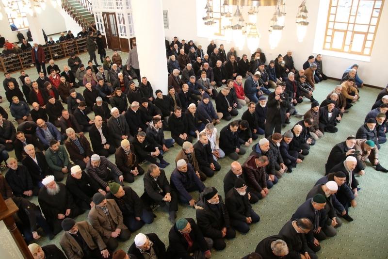 Eski Orta Camii Yeni Yerinde İbadete Açıldı
