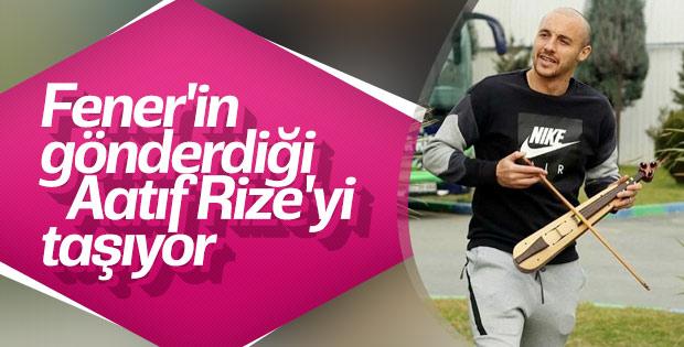 Fenerbahçe'nin Gönderdiği Aatıf Ç.Rizespor'da Kendini Buldu