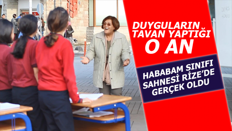 Fındıklı'da Emekli Öğretmenlere Büyük Süpriz