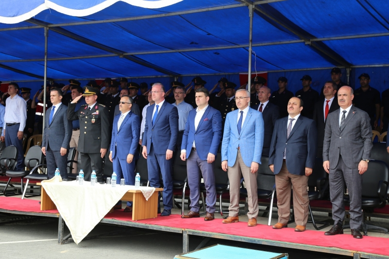 Jandarma Teşkilatının 180. Yılı Rize'de Törenlerle Kutlandı