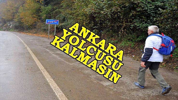 Kansere Farkındalık İçin Trabzon'dan Ankara'ya Yürüyüş