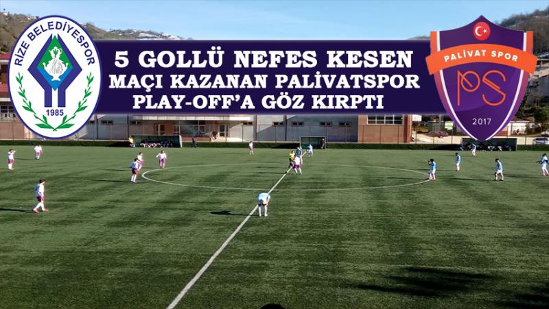 Palivatspor Bal Ligi Yolunda Play-Off'a Göz Kırptı
