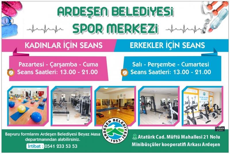 Sağlıklı Yaşam ve Spor için Ardeşen Belediyesi Spor Merkezi