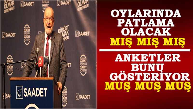 SP Genel Bşk. Temel Karamollaoğlu Rize'de İddialı Konuştu