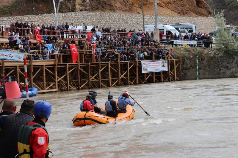 Tunceli Munzur Çayında Rafting Milli Takım Seçmeleri Sona Erdi