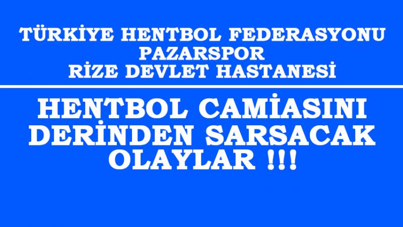 Türkiye Hentbol Camiasını Derinden Sarsacak Olaylar !!!