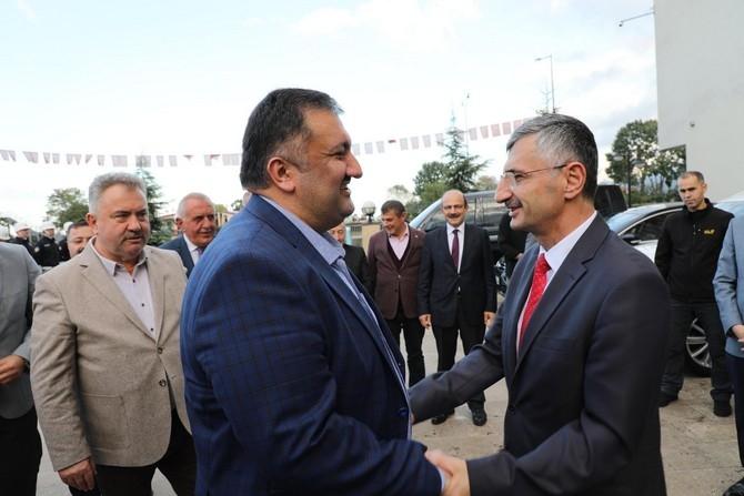 Vali Erdoğan Bektaş Rize'ye Veda Etti