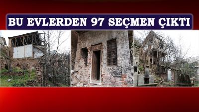 Artvin'de, Harabe 6 Evde, 97 Seçmen Çıktı