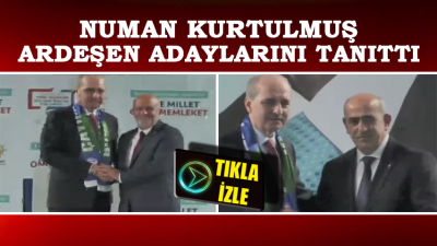 Avni Kahya ve Ahmet Naci Aytemiz Böyle Tanıtıldı