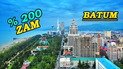 Batum'a Geçişler Yüzde 200 Zamlandı… İşte Yeni Ücret…