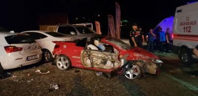 Çamlıhemşin'de Trafik Kazası: 1 Ölü 3 Yaralı