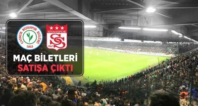 Çaykur Rizespor - Sivasspor Maçı Biletleri Satışa Çıktı
