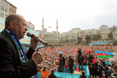 Cumhurbaşkanı Erdoğan Rize'ye Teşekkür İçin Geliyor