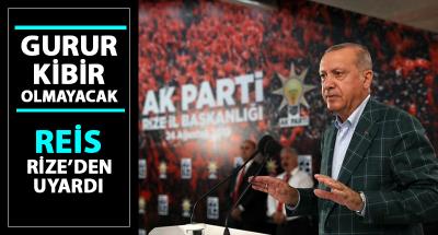 Erdoğan'dan Belediye Başkanlarına Kibir ve Gurur Uyarısı