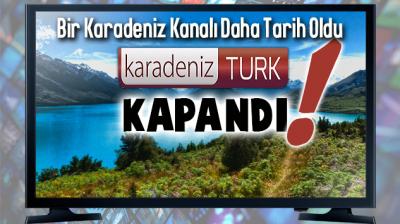 Karadeniz TV'leri Bir Bir Tarih Oluyor... Bir Kanal Daha Kapandı