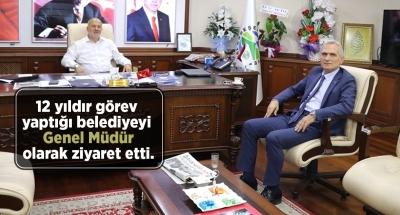 Mümtaz Sinan'dan Avni Kahya'ya Hayırlı Olsun Ziyareti