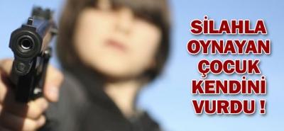 Tabancayla Oynayan 7 Yaşındaki Çocuk, Kendini Başından Vurdu
