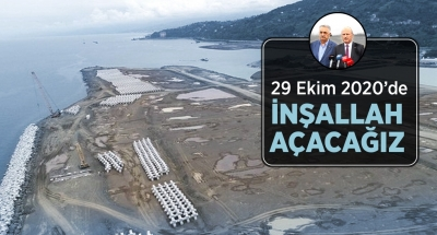 Ulaştırma Bakanı Rize Havalimanı'nda İncelemelerde Bulundu