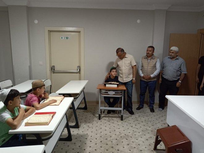 Vali Kemal Çeber Arapdüzü'nde İncelemelerde Bulundu