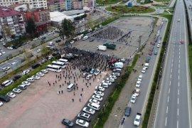 Haydar Baş Trabzon'da Son Yolculuğuna Uğurlandı