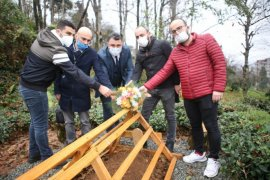 Ahmet Özcan Mezarı Başında Anıldı