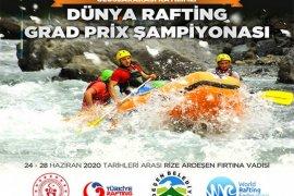 Dünya Rafting Şampiyonası Ardeşen'de Yapılacak