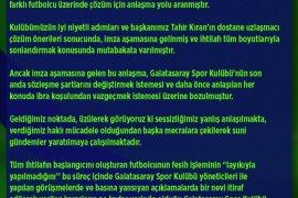 Çaykur Rizespor'dan GS'ye Sert Açıklama