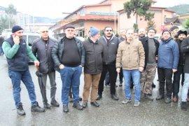 Rize'de Sanayi Esnafı Sanayi Sitesi Projesine Tepkili