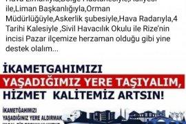 Cemil Bayrak: Ardeşen'e Hizmet Getirmek Lazım