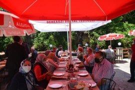 Şehit ve Gazi Aileleri Tunca Beldesi'nde Ağırlandı