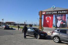 Fındıklı'da Atatürk Parkı Soruşturmasına Protesto