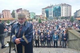 Mesut Yılmaz İçin Rize'de Gıyabi Cenaze Namazı