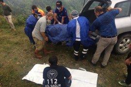 Yaylada Araç Uçuruma Yuvarlandı: 1 Ölü