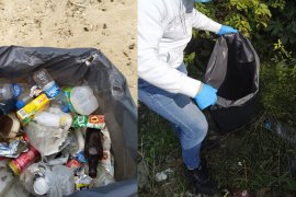 Üniversite Öğrencileri Ardeşen'in Çöpünü Topladı