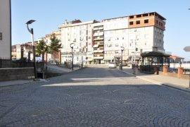 Ardeşen'de Sokak ve Caddeler Boş Kaldı