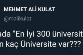 Dünyanın En İyi 300 Üniversitesinde Türkiye..?